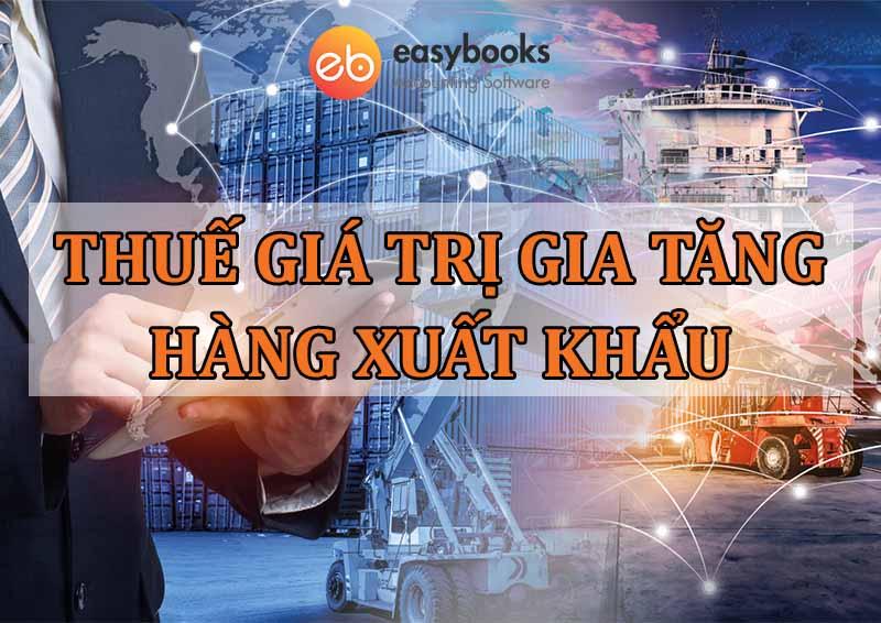 Thuế GTGT hàng xuất khẩu